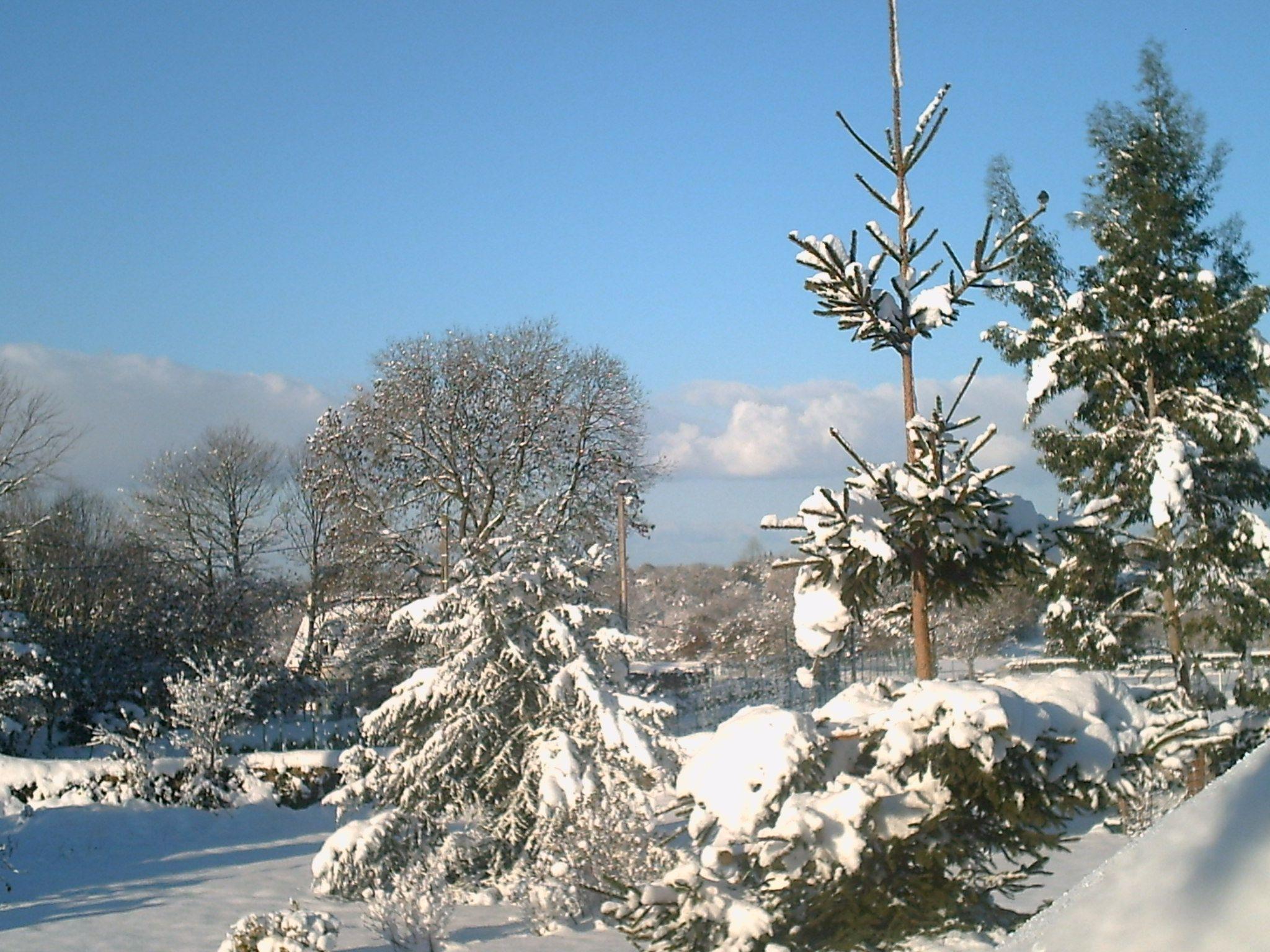 Louargat sous la neige for Bienvenue en bretagne